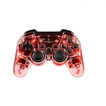 Mando Wireless Afterglow Rojo para PS3
