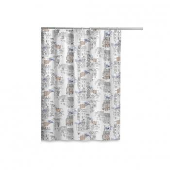 Cortina de Baño de Poliester CARREFOUR HOME Ciudades 180x180cm - Estampado 9e10c01f1f8