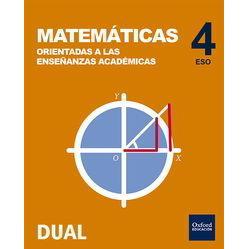 Inicia Dual Matemáticas Orientadas a las Enseñanzas Académicas 4.º ...