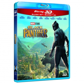 Black Panther  - Blu Ray 3D+2D