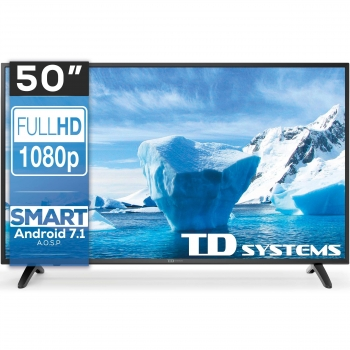 TV LED 127 cm (50'') TD Systems 50DLM8FS, Full HD, Smart TV