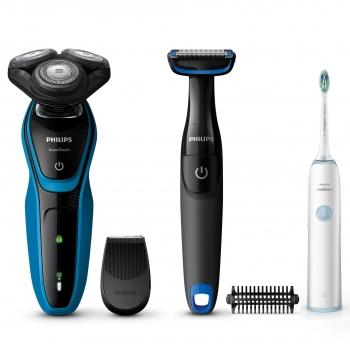 Afeitadora Philips S5050 64 + Cepillo Dental Hx3212 03 3c782dbd7bce