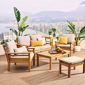Muebles y decoraci n de jard n al mejor precio carrefour for Ofertas en muebles de terraza y jardin