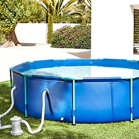 Piscinas desmontables y spas for Jacuzzi hinchable carrefour