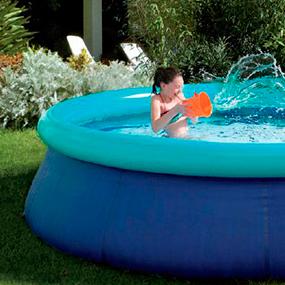 Piscinas desmontables y spas for Suelo piscina carrefour