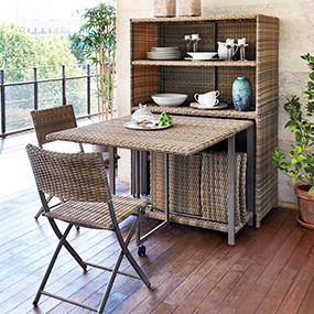 Muebles y decoraci n de jard n al mejor precio carrefour for Sillones de balcon