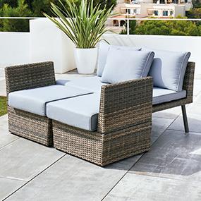 Muebles y decoraci n de jard n al mejor precio carrefour for Muebles terraza carrefour