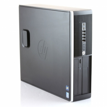 Reacondicionado - Hp Elite 8300 Sff- Ordenador De Sobremesa  (intel Core I5-3470 Quad Core, 12gb De Ram, Disco Hdd De 250 Gb + Ssd De 240 Gb, Lector Dvd, Windows 10 Pro ) – Negro