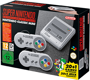 Nintendo Consola Super Nintendo Entertainment System (nintendo Classic Mini) Gray