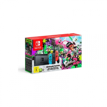 Videoconsola Nintendo Switch Neón + Splatoon 2