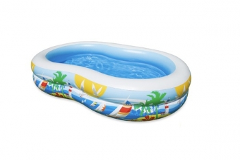 Piscina Hinchable Familiar 261x160x45 Intex 56490np