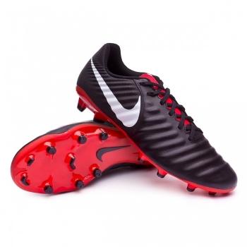 Botas De Fútbol Nike Tiempo Legend 7 Academy Fg Negro  rojo Adulto 78c2fd99a5568