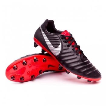 Botas De Futbol Nike Tiempo Legend 7 Pro Suela Fg Negra Rojo Adulto d8bbbe6836328