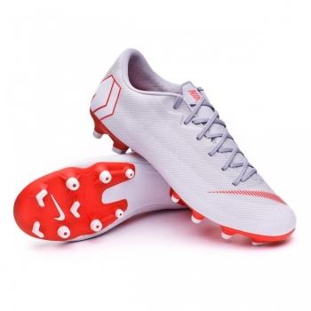 separation shoes f63e8 ed80d Botas De Futbol Nike Raised Vapor 12 Academy Gris Suela Fg mg Adulto