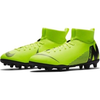 promo code ce599 26675 Botas De Fútbol Nike Mercurial Superfly Series Suela Mg Amarillo Fluor   Negro Niño