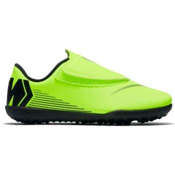 Botas De Fútbol Nike Mercurial Vapor Series Suela Turf Amarillo negro Niño  Con Velcro 0ece07e77910e