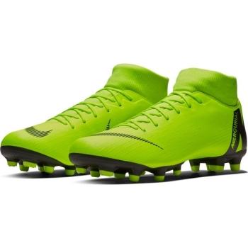6110104b30d Botas De Fútbol Nike Mercurial Superfly Series Suela Fg mg Amarillo Fluor   Negro Adulto