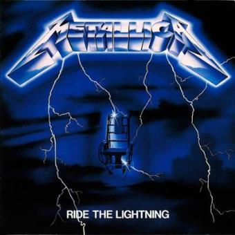Lp. Metallica. Ride The Lightning (remastered