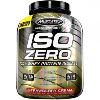 Iso Zero 5 Lb Strawberry-cream
