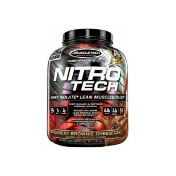 Nitro Tech Performance 4 Lb Decadent Brownie Cheescake