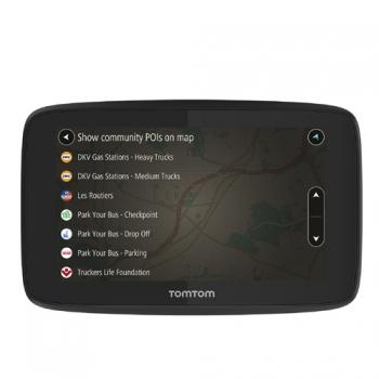 Navegador Camiones Tom Tom Go Profesional 6200 Eu48 Ltm , Wifi , 16 Gb , Sim Incorporada ,