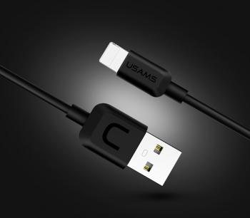 cc5c9acb4cd Usams® Cable De Datos Usb Lightning 8 Pin ( Negro 1m 2a ) Iphone 5 5s 5c Se 6  6+ 6s 6s+ 7 7+ 8 8+ X, Ipad Mini 1 2 3 4, Pro, Air, Ipod 5 6 7