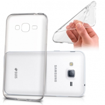 3c71ae2818a Funda Silicona Samsung J3 Pro ( Gel Tpu 0.33 Mm ) Transparente