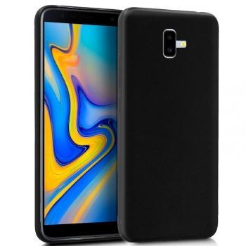 5ebf6d5d4a1 Cool® - Funda Silicona Samsung Galaxy J6 Plus Negra ( Gel Tpu ) Carcasa  Trasera