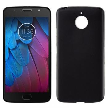 f3ea6b5d45b Cool® - Funda Silicona Motorola Moto G5s Negra ( Gel Tpu ) Carcasa Trasera  Protectora