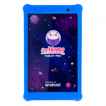 Soymomo Tablet Pro Azul- Tablet Para Niños Con Inteligencia Artificial