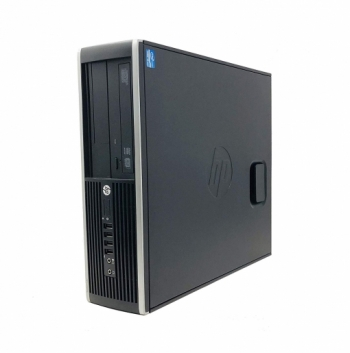 Reacondicionado - Hp Elite 8200 Sff - Ordenador De Sobremesa (intel Core I5-2400 Quad Core, 16gb Ram,ssd De 240 Gb + 250 Hdd, Lector Dvd, Coa Windows 7 Pro.) Negro