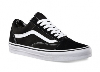 Vans Ua Old Skool Negro/blanco
