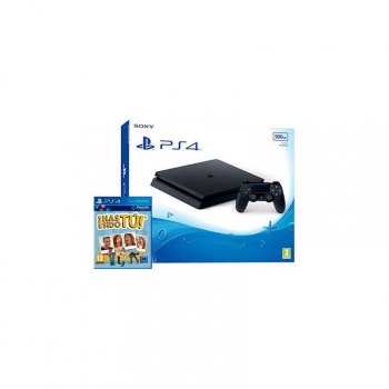 Consola Ps4 500gb Slim Black + Has Sido Tu�