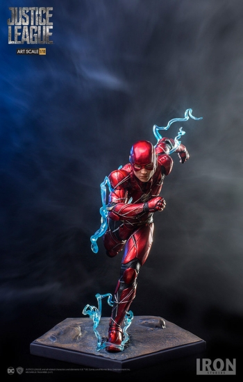 Flash Jla - Iron Studios Figura 20 Cm