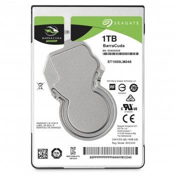 "Disco Duro Interno Seagate Guardian Barracuda St1000lm048 1tb 2.5"" Sata 6gb/s  5400 Rpm Búfer: 128 Mb"