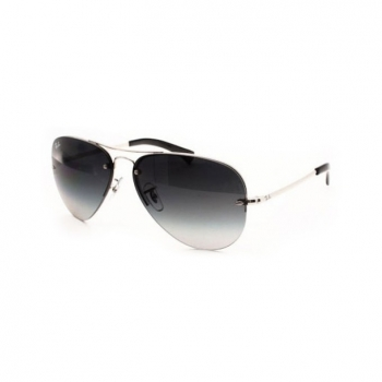 Gafas De Sol Ray-ban Highstreet Rb3449 003/8g Color Plata
