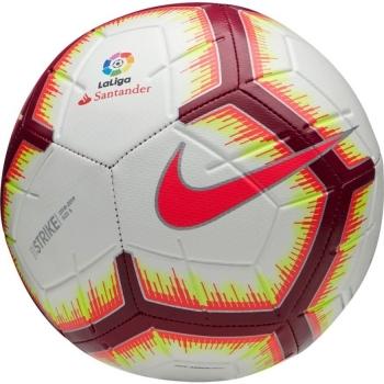 597431e31b0 Balón De Fútbol Nike La Liga Strike Blanco granate 2018 19