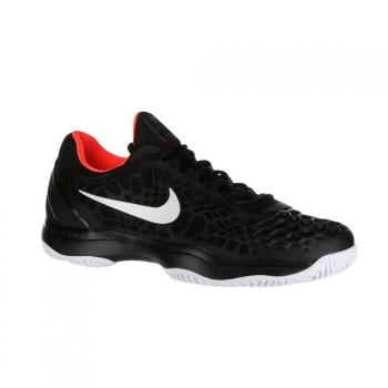 timeless design 8db6b 3d9a9 Nike Air Zoom Cage 3 Clay Negro Blanco Ni918192 016