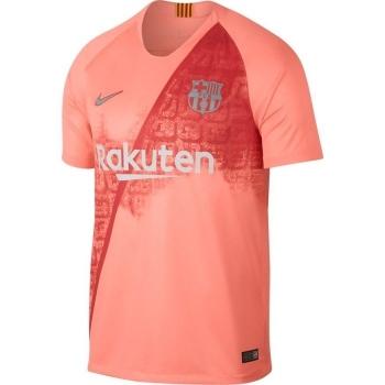 Camiseta Nike Barcelona Tercera Equipación 18 19 Rosa Adulto  652b37a6941