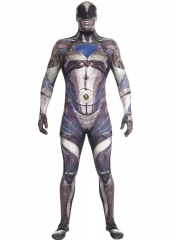 Disfraz De Power Ranger Negro Movie Morphsuits Para Adulto Original