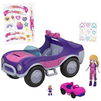 Polly Pocket Secrete Coche