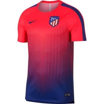 Camiseta De Entrenamiento Atletico De Madrid 18 19 Naranja azul Adulto c52128fbf8d