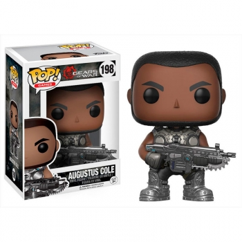 Figura Vinyl Pop! Gears Of War Augustus Cole