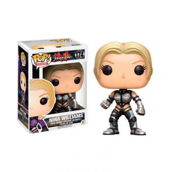 e037a19e10b76 Figura Vinyl Pop! Tekken Nina Williams Silver