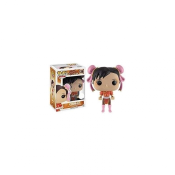 c7a1450095ece Figura Vinyl Pop! Street Fighter Chun-li Red