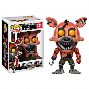 Figura Vinyl Pop! Five Nights At Freddy's Nightmare Foxy