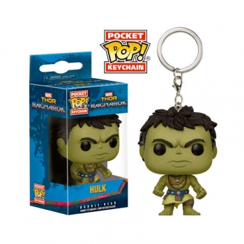 Llavero Pocket Pop! Marvel Thor Ragnarok Hulk