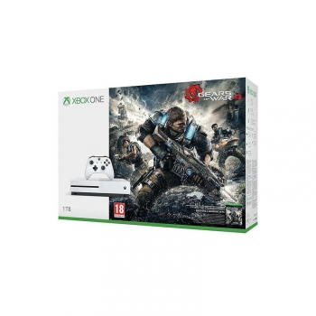 Consola Xbox One S 1tb + Gears Of War 4