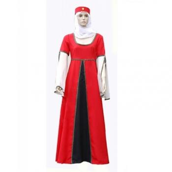 Vestido Medieval Mujer Ana Ver Color Rojo Talla Xl 5ec2ccb16a9