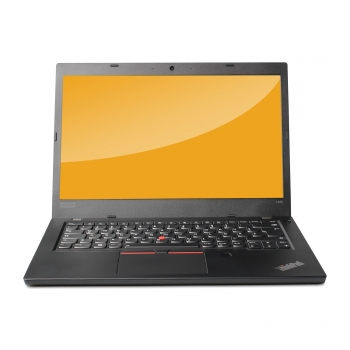 Portátil Reacondicionado Lenovo Thinkpad L480, Intel Core I5-8250u, 8gb Ram, 128gb Ssd, 14/